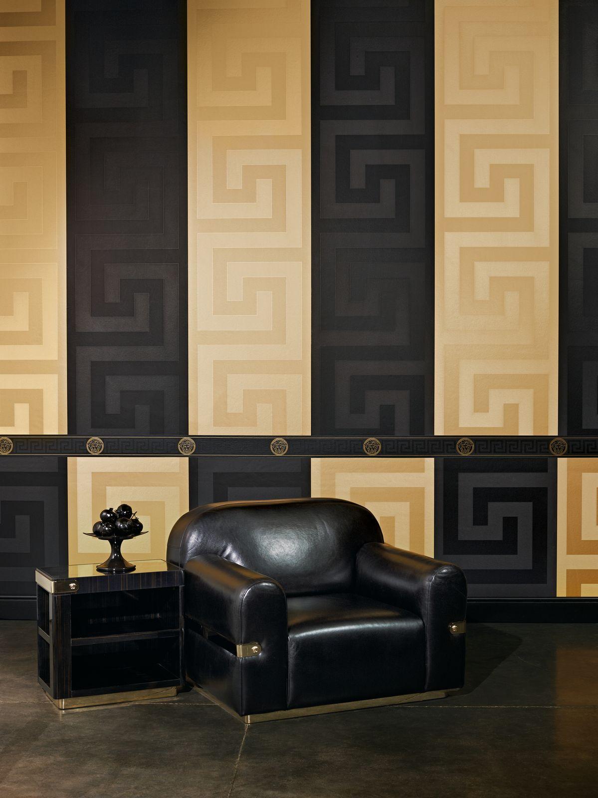 Versace Home Tapete Vlies Griechisch gold Glanz 93523-2 9,89€//1qm