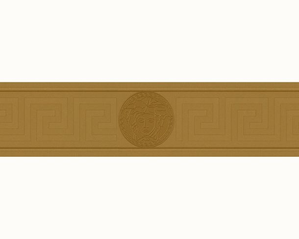 Wallpaper border Versace Home greek Medusa gold metallic 93522-2