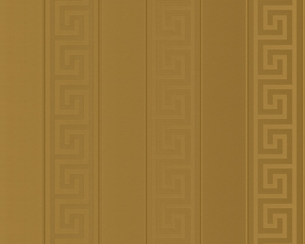 Wallpaper Versace Home stripes greek gold metallic 93524 2. Designer Home Wallpaper. Home Design Ideas