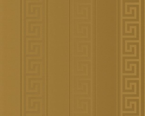 Wallpaper Versace Home stripes greek gold metallic 93524-2 online kaufen