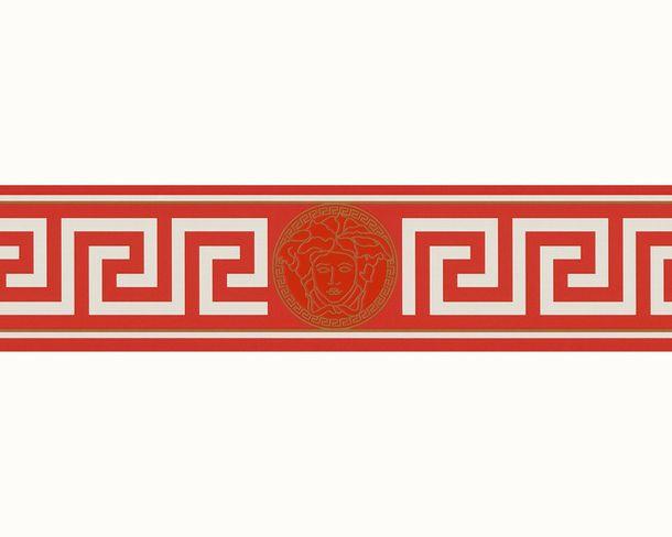 Borte Versace Home Medusa-Kopf rot weiß gold 93522-1 online kaufen