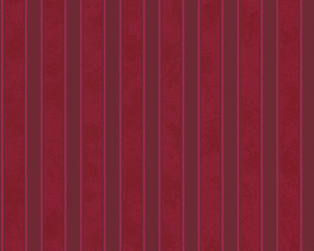 Wallpaper Versace Home Stripes Bordeaux