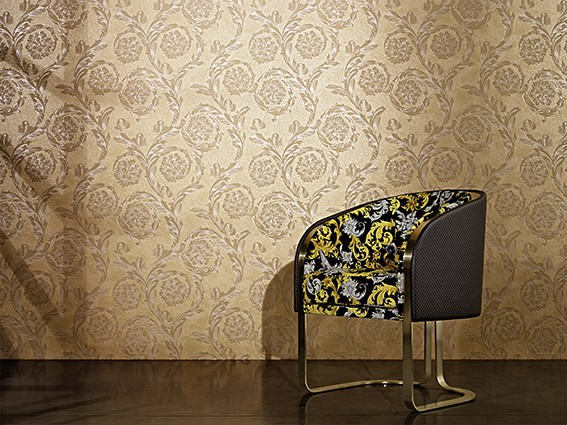 Wallpaper Versace Home baroque beige brown metallic 93588-2 online kaufen