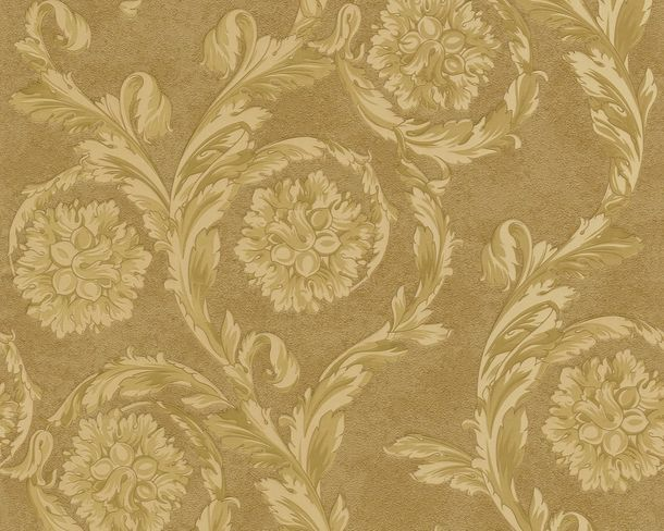 Wallpaper Versace Home baroque gold 93588-3
