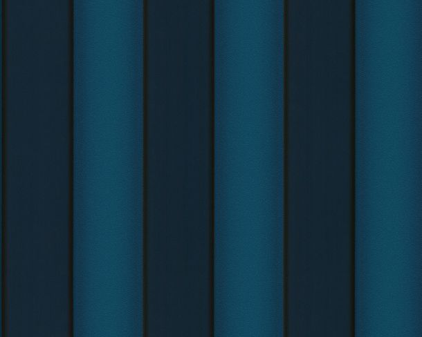 Wallpaper Versace Home stripes blue turquoise 93546-4