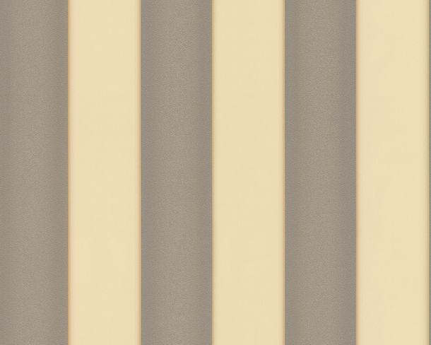 Wallpaper Versace Home stripes texture beige grey 93546-5