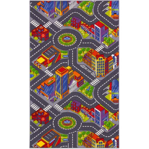 Carpet Kids Streets Big City 100x165cm / 39.37x64.96'' colorful