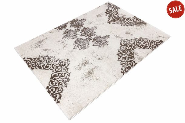 Carpet Manhatten modern designer rug in different sizes  cream online kaufen
