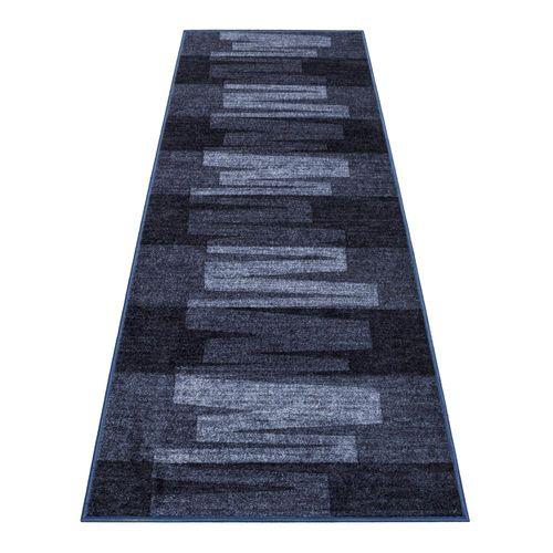 Runner Rug Carpet Via Veneto design blue 100cm Width online kaufen