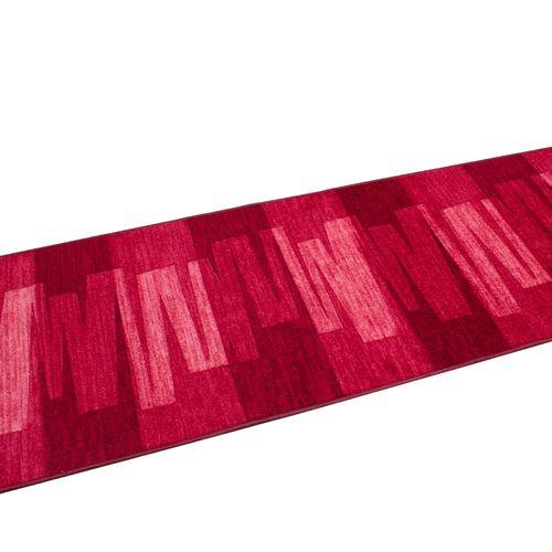 Runner Rug Carpet Via Veneto design red 100cm Width online kaufen