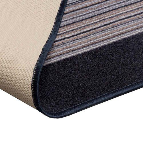 Runner Rug Carpet Carnaby stripes grey 80cm Width online kaufen