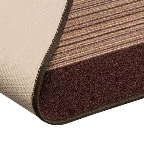 Runner Rug Carpet Carnaby stripes brown 80cm Width online kaufen