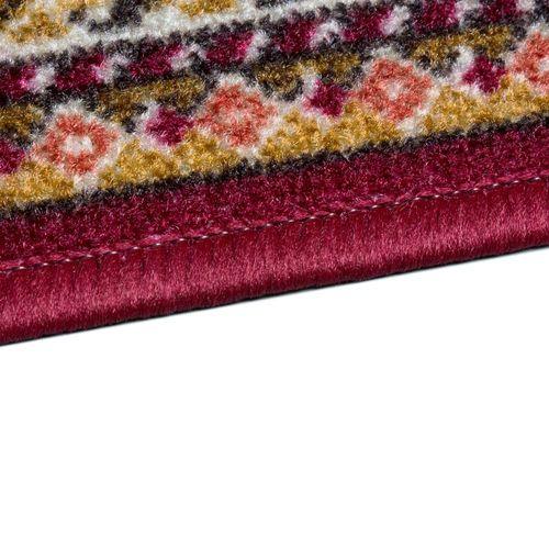 Teppichläufer Läufer Inca Orient rot beige 80cm Breite Läufer online kaufen