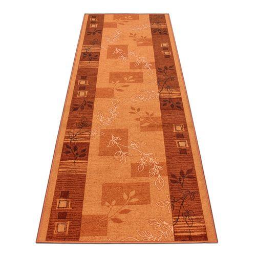 Runner Rug Carpet Agadir floral terra 67cm Width