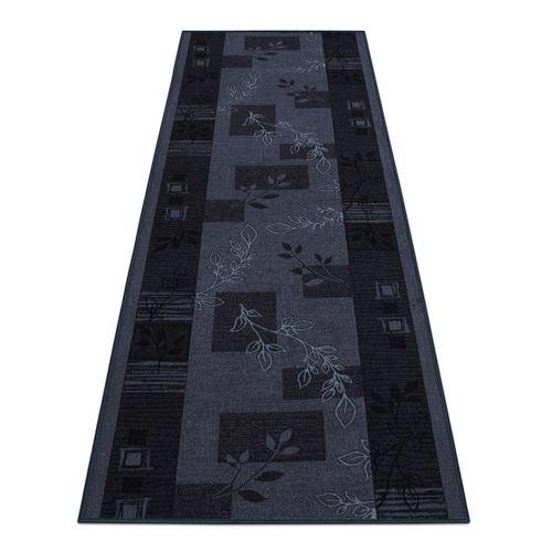 Runner Rug Carpet Agadir floral grey 67cm Width