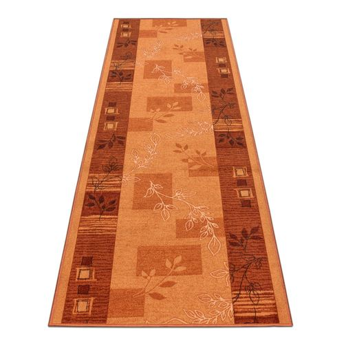 Runner Rug Carpet Agadir floral terra 80cm Width