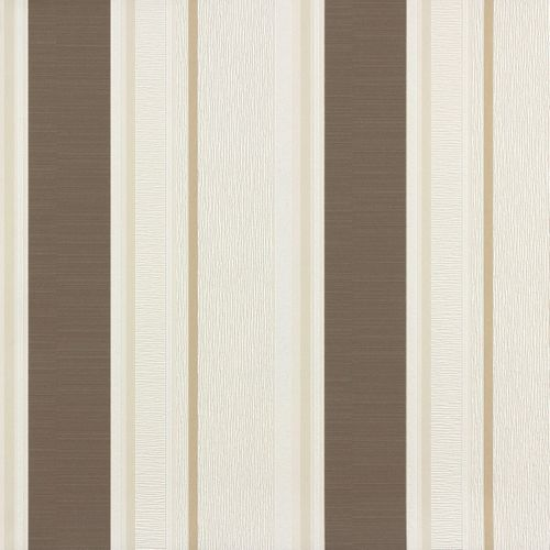 Endless Joy Rasch non-woven wallpaper 723694 stripes cream brown  online kaufen