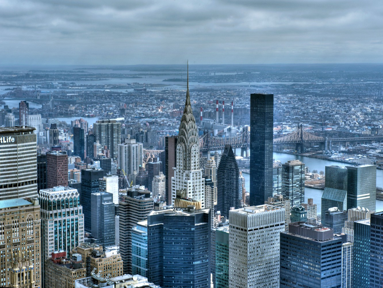 Wall Mural Wallpaper New York Skyline Poster 127 Cm X 180 Cm / 1.39 Yd X  1.97 Yd Part 33