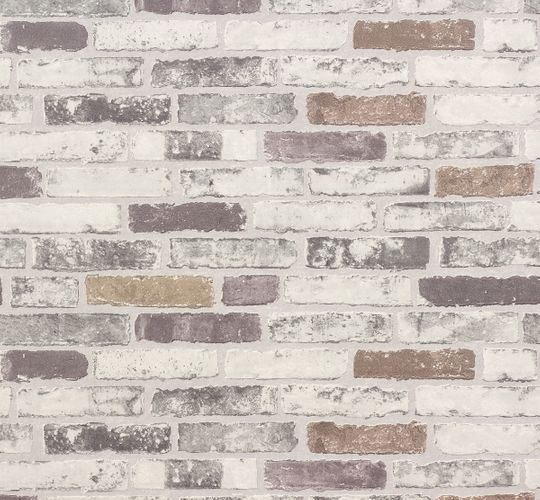 Wallpaper grey stones Brix Erismann 6703-10