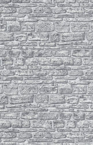 Wallpaper Erismann Brix non-woven wallpaper 6704-10 670410 wall stone optic grey online kaufen