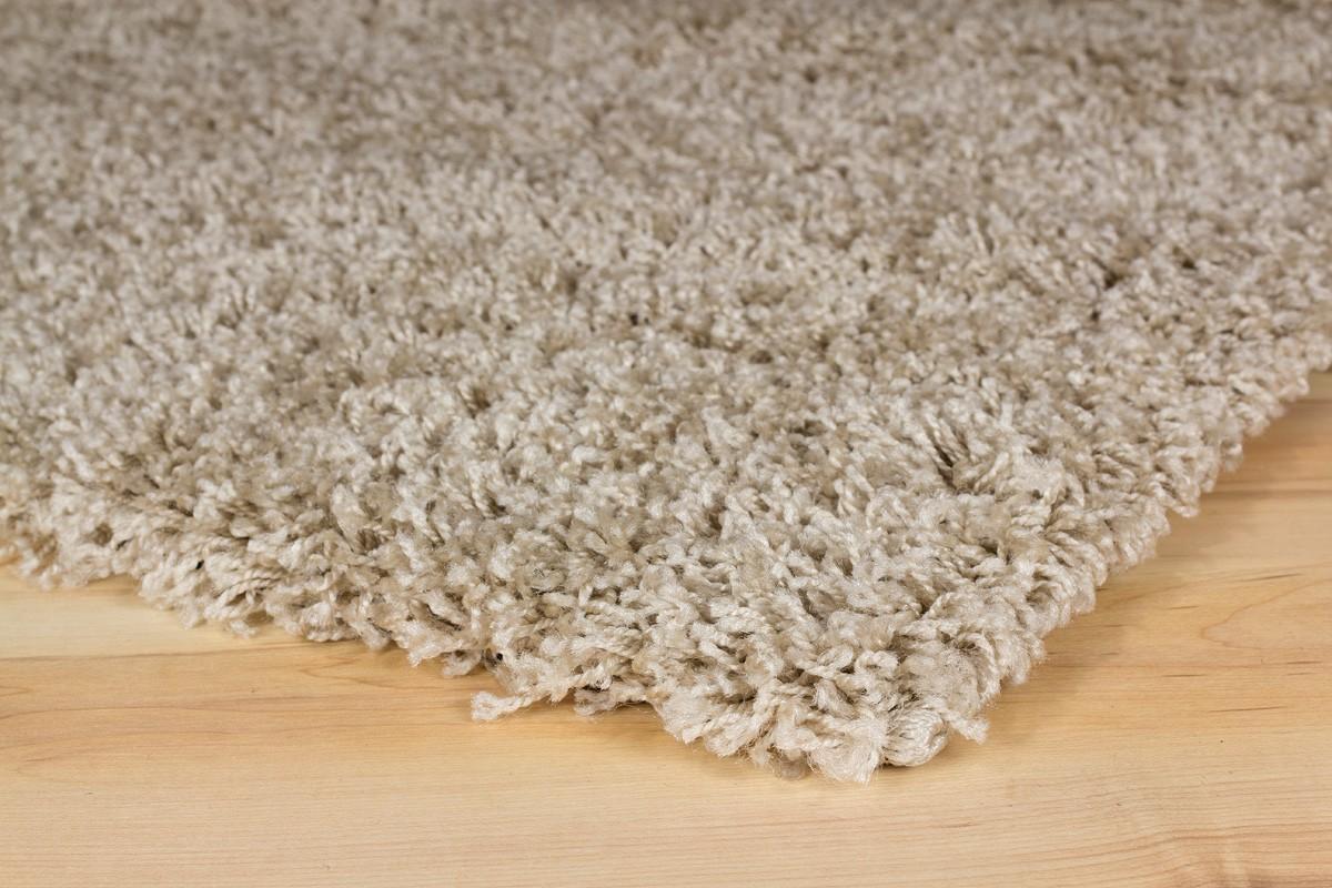 Langflor teppich hochflor teppich fancy uni einfarbig Ökotex