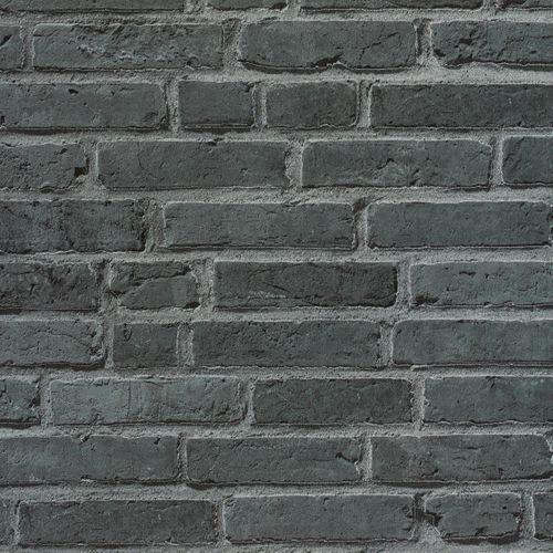Wallpaper stone clincer wall black AS Creation 94283-3