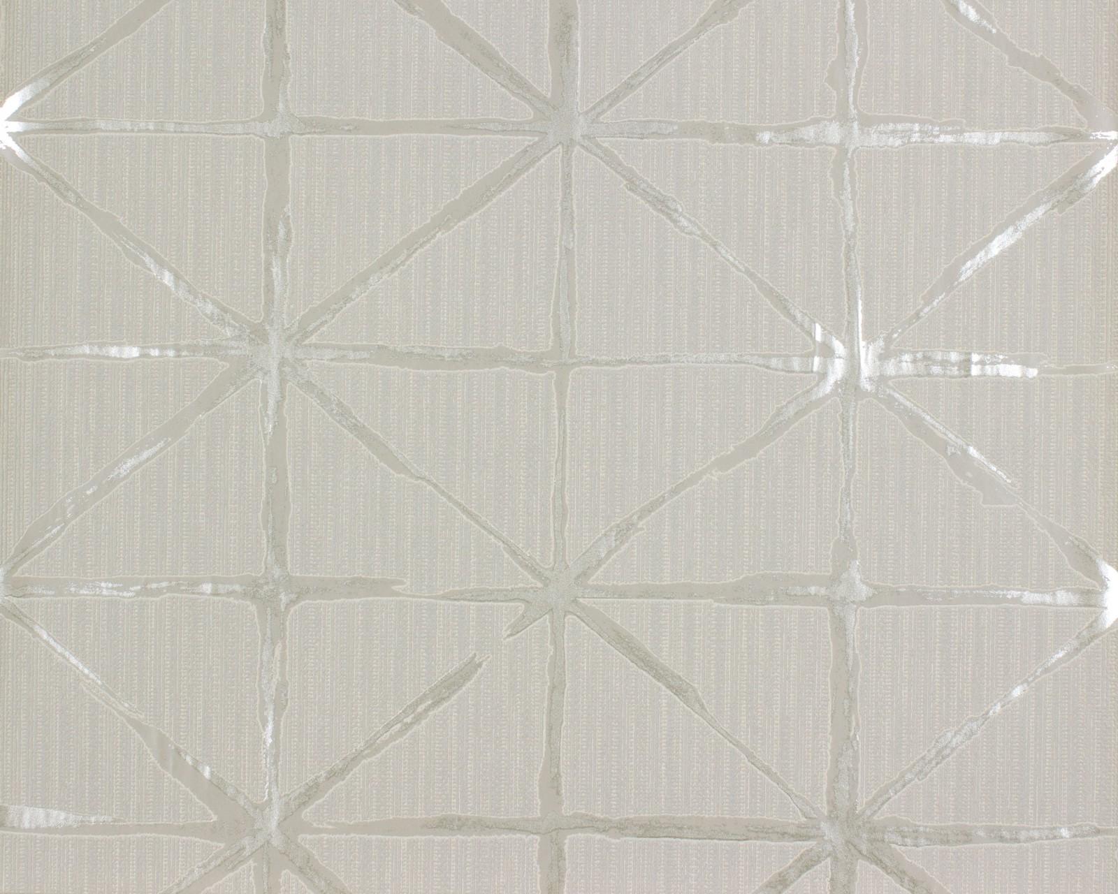 Tapete rasch grafik beige silber home vision 862713 for Silber tapete