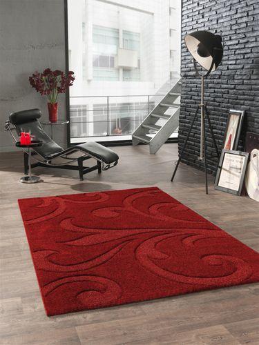 Teppich rot Barock Diamond Plus 200 x 290 cm online kaufen