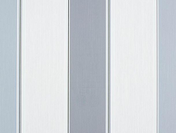 wallpaper Rasch Perfecto non-woven wallpaper 496826 stripes cream grey-beige/blue