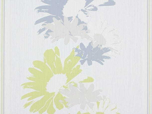wallpaper Rasch Perfecto non-woven wallpaper 496543 flower cream beige green grey online kaufen