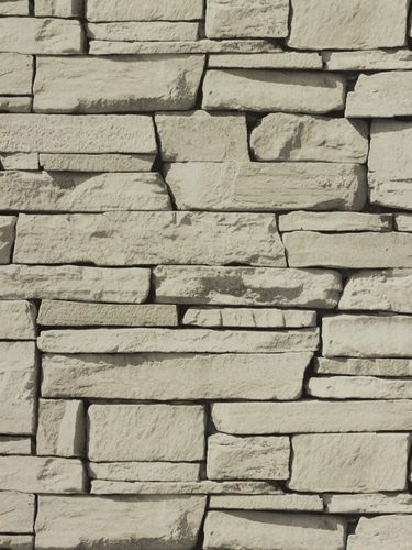 Non woven wallpaper 827087 stone optics light grey online kaufen