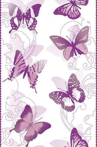 Pop Up Panel adhesive Dekopanel butterfly purple online kaufen