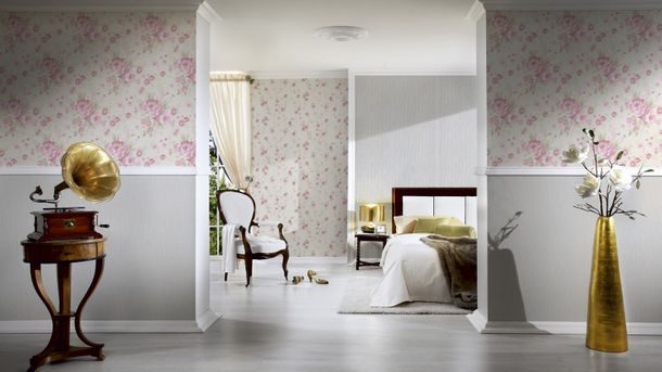 Wallpaper Romantica uni green AS 94349-5 online kaufen