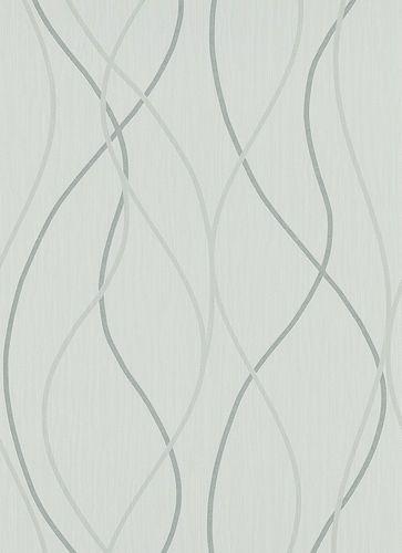 wallpaper Ambiance Erismann non-woven wallpaper 5907-10 590710 lines grey