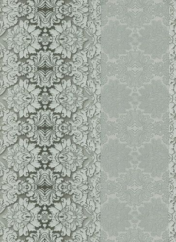 Vliestapete Barock Streifen silber Glanz Hommage 5811-10 online kaufen