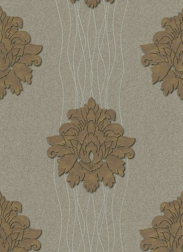 wallpaper Hommage Erismann non-woven wallpaper 5810-37 581037 baroque brown online kaufen