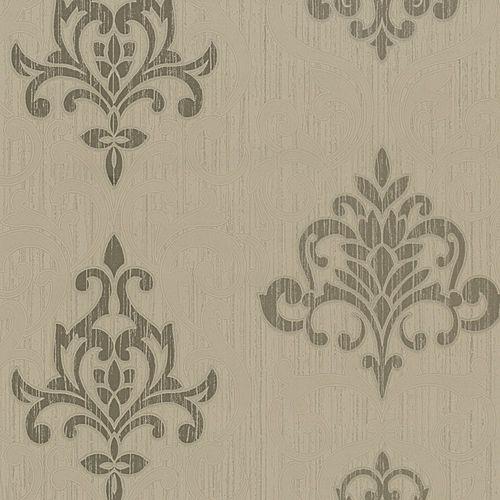 P+S wallpaper Classico non-woven wallpaper 13194-20 1319420 baroque structure brown