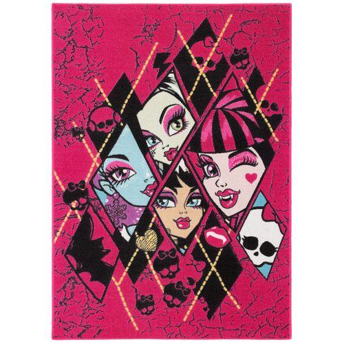 Kinderteppich Monster High 95x133 cm lila schwarz online kaufen