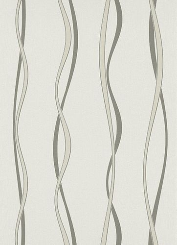 Non-woven wallpaper cream anthracite Welcome Home Erismann 6847-15