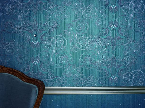 Wallpaper Glööckler textured white Metallic 54441 online kaufen
