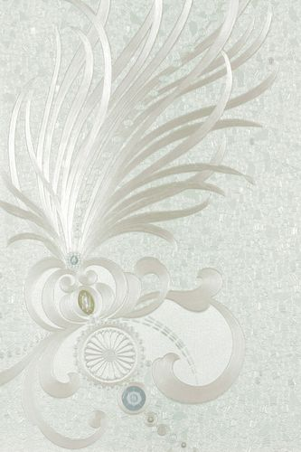 Harald Glööckler Deux wallpaper 54472 feathers white