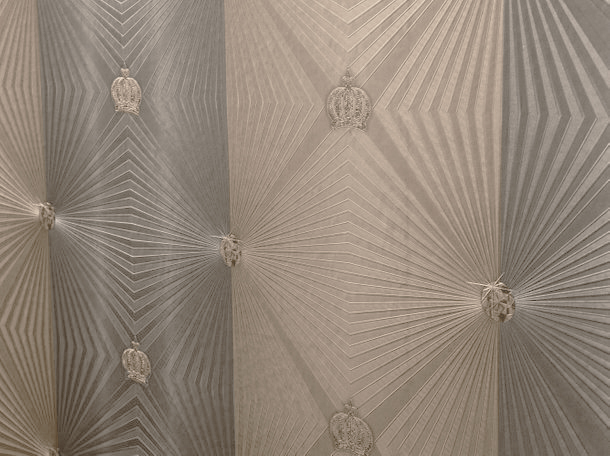 Wallpaper Glööckler diamonds brown Metallic 54406