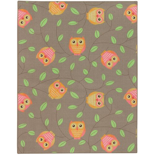 Carpet owls children 133 x 170 cm beige play carpet online kaufen