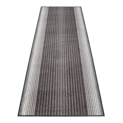 Teppichläufer Läufer Capitol Streifen grau 80cm Breite online kaufen