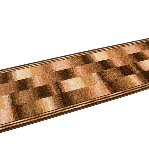 Runner Rug Carpet Ikat design brown 67cm Width online kaufen