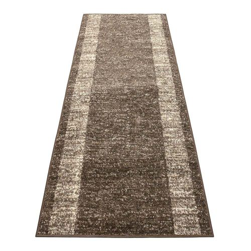 Runner bridge carpet runner Venus brown beige 80 cm / 31.5 '' width