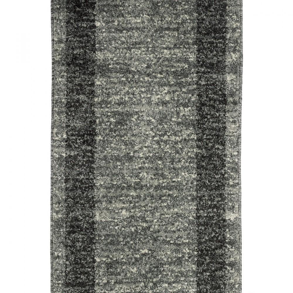 Relativ Läufer Brücke Teppich Läufer Venus silber grau 80 cm Breite KX54