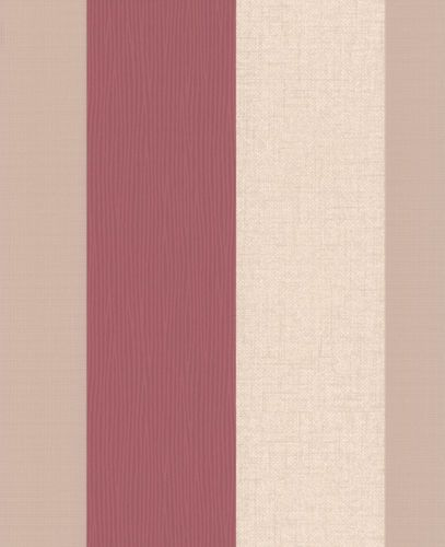 wallpaper Graham & Brown Fabric Collection 18944 stripes cream beige red