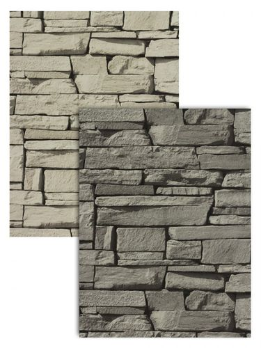 Stone wallpaper brick non-woven wallpaper 3D optics