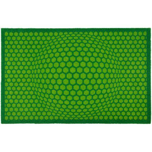 Lars Contzen Türmatte Honeycomb 50x78cm grün